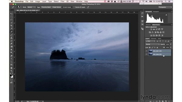 Blending two images to achieve the look: Landscape Photography: Washington's Olympic National Park
