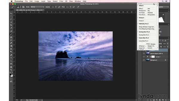 Finalizing the post-process image blend: Landscape Photography: Washington's Olympic National Park
