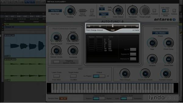 Quick start: Tuning a vocal in Auto mode: Up and Running with Auto-Tune 8