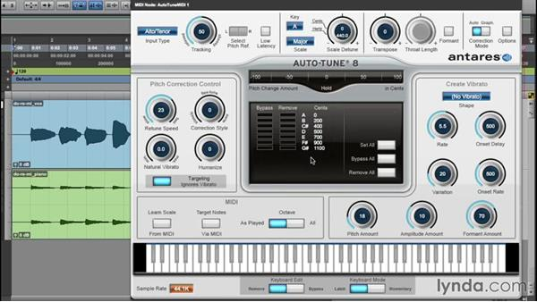 Understanding the Auto-Tune interface: Up and Running with Auto-Tune 8