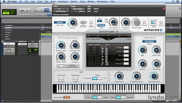 autotune plugin for pro tools first