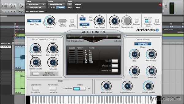 Achieving natural results: Up and Running with Auto-Tune 8