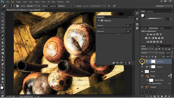 Using adjustment layers: Nondestructive Exposure and Color Correction with Photoshop CC (2014)