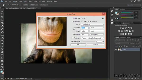 Opening a raw file as a Smart Object: Nondestructive Exposure and Color Correction with Photoshop CC (2014)