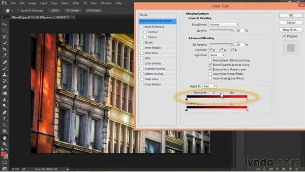 Advanced blending of adjustment layers: Nondestructive Exposure and Color Correction with Photoshop CC (2014)