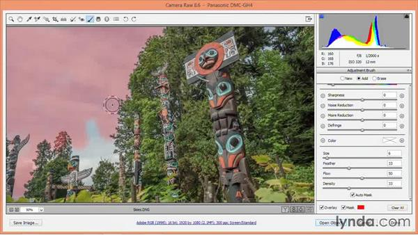 Recovering blown-out highlights and skies: Nondestructive Exposure and Color Correction with Photoshop CC (2014)