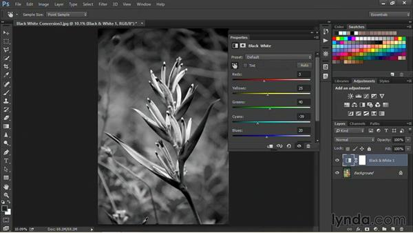 Using the on-image tool: Nondestructive Exposure and Color Correction with Photoshop CC (2014)