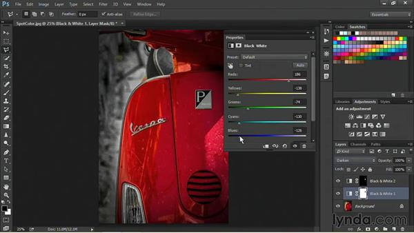Hand-tinting a photo: Nondestructive Exposure and Color Correction with Photoshop CC (2014)