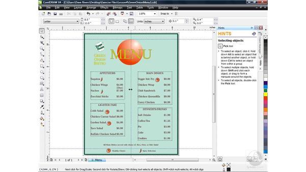Creating and using symbols: CorelDRAW X4 Essential Training