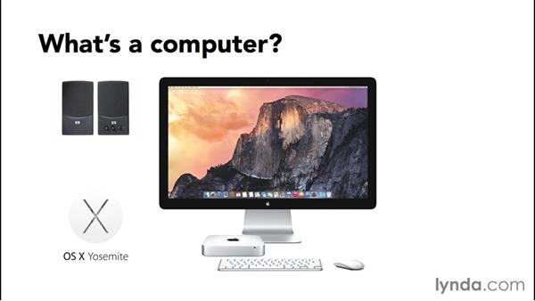 What's a computer?: Computer Literacy for Mac