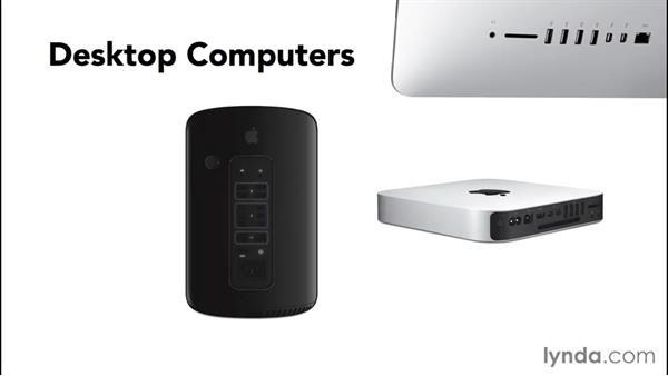 Desktop vs. laptop vs. tablet computers: Computer Literacy for Mac