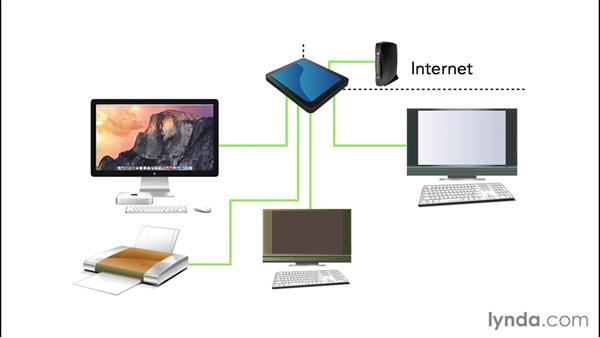 Understanding networks and Internet access: Computer Literacy for Mac