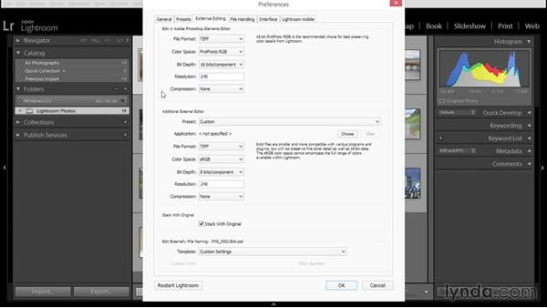 Understanding Lightroom's external editing preferences: Using Lightroom and Photoshop Elements Together