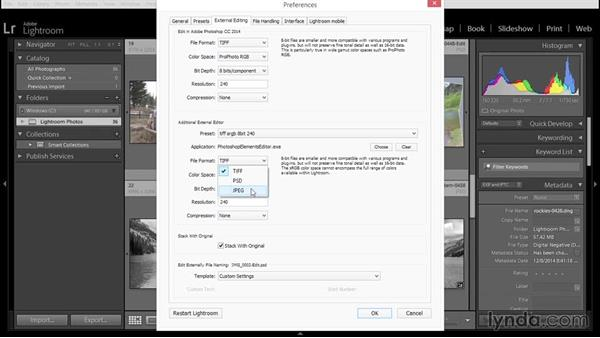 Creating presets for Elements as Lightroom's additional external editor: Using Lightroom and Photoshop Elements Together