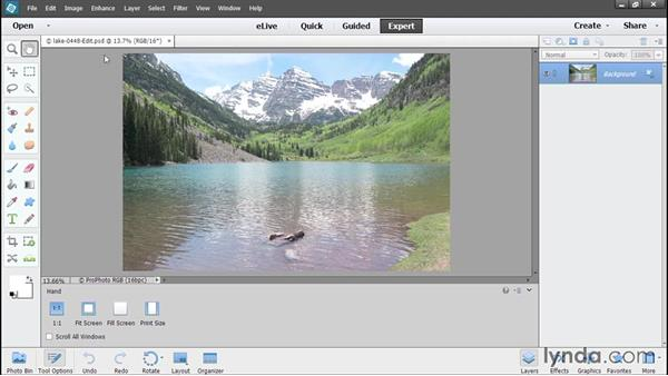 Choosing Edit a Copy: Using Lightroom and Photoshop Elements Together