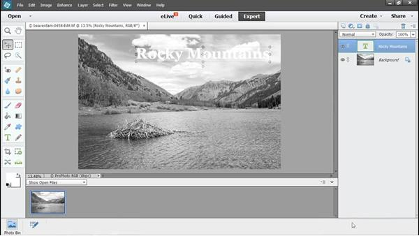 Returning to Elements for revisions: Using Lightroom and Photoshop Elements Together