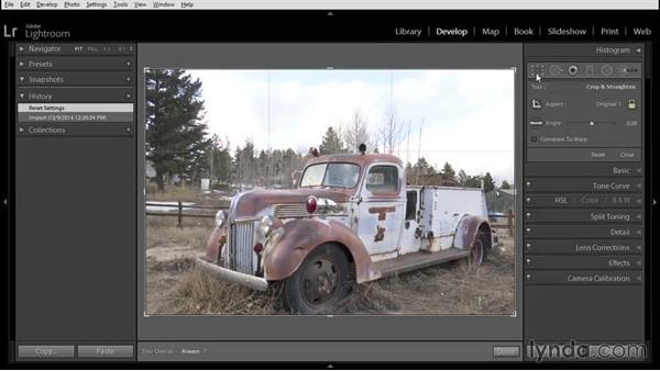 Blending bracketed exposures: Using Lightroom and Photoshop Elements Together
