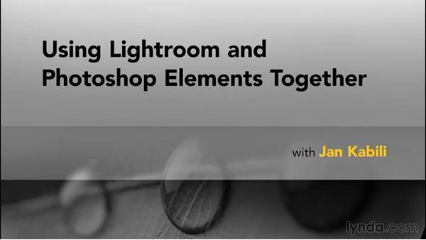 Goodbye: Using Lightroom and Photoshop Elements Together