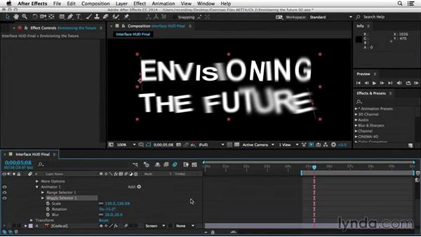 Welcome: After Effects Tips and Techniques: Shapes, Text, Masks, and Path Effects
