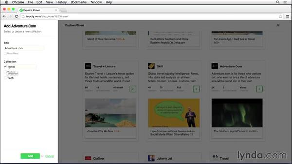 Using an RSS feed reader: Up and Running with RSS and Podcast Subscriptions