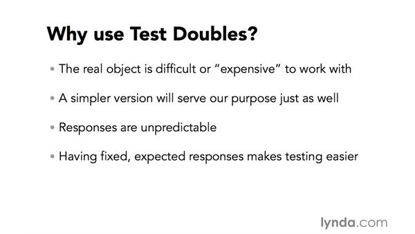 What are test doubles?: RSpec Testing Framework with Ruby
