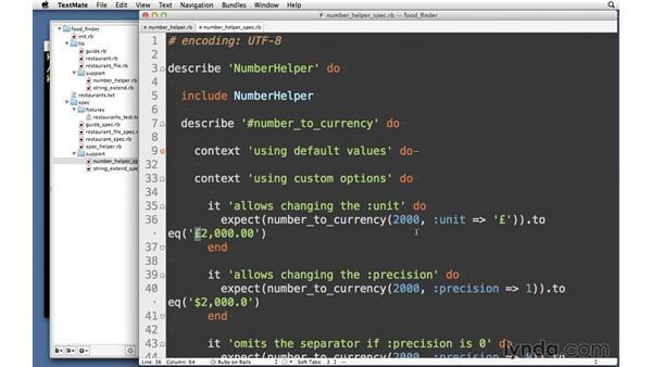 Solution: NumberHelper: RSpec Testing Framework with Ruby