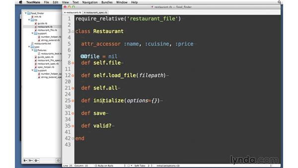 Challenge: Restaurant: RSpec Testing Framework with Ruby