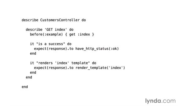 Controller specs: Responses: RSpec Testing Framework with Ruby