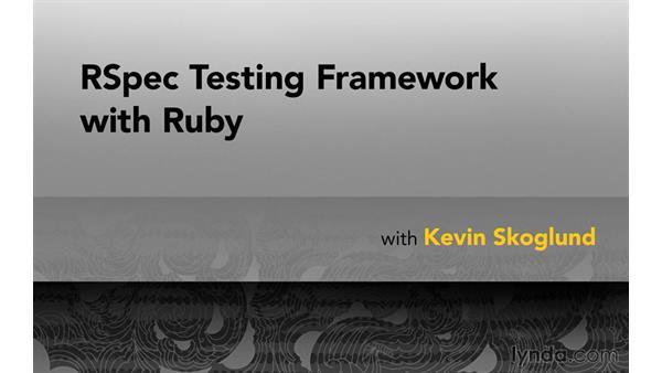 Goodbye: RSpec Testing Framework with Ruby