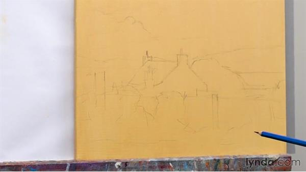 Blocking in and underpainting: Foundations of Acrylic Painting