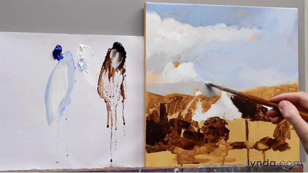 Earth colors vs. synthetic colors: Foundations of Acrylic Painting