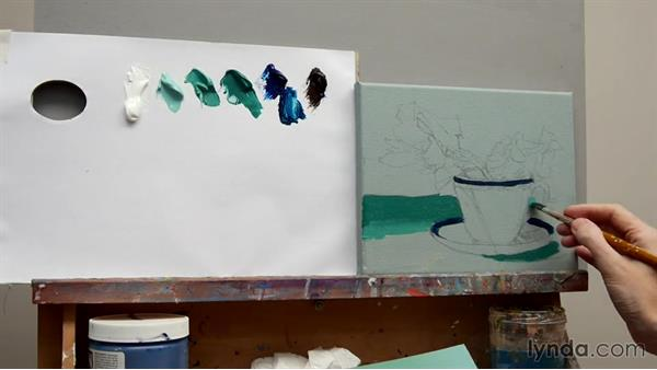 Final project: First stages: Foundations of Acrylic Painting
