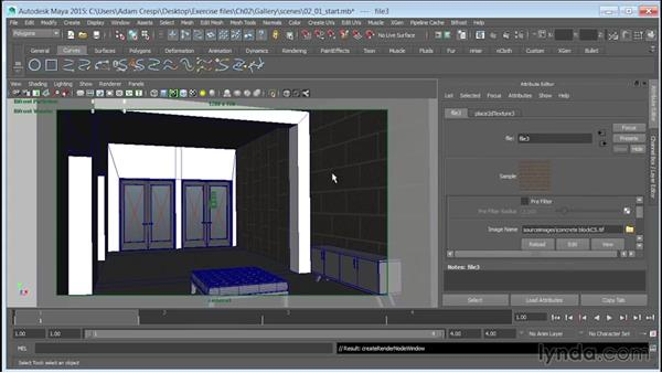 Creating a metal material and linking the textures: Learn to Texture for 3D