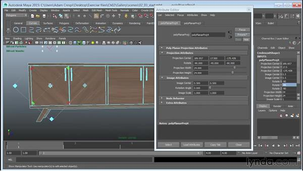 Mapping wood veneer using presets: Learn to Texture for 3D