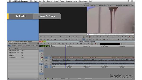 Top and Tail editing in Avid Media Composer: Video Post Tips Weekly