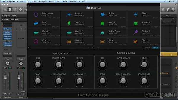 Exploring multiple new drummers and beat makers: Logic Pro X New Features