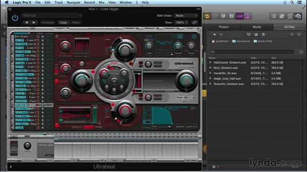 Adding your own sounds and samples to Drum Machine Designer: Logic Pro X New Features