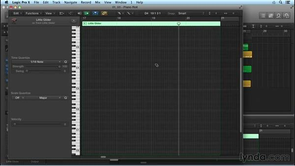 Fine-tune MIDI with new Piano Roll Editor features: Logic Pro X New Features