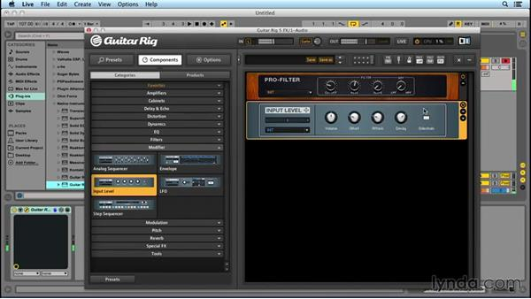 Using the Modifier modules: Up and Running with GUITAR RIG
