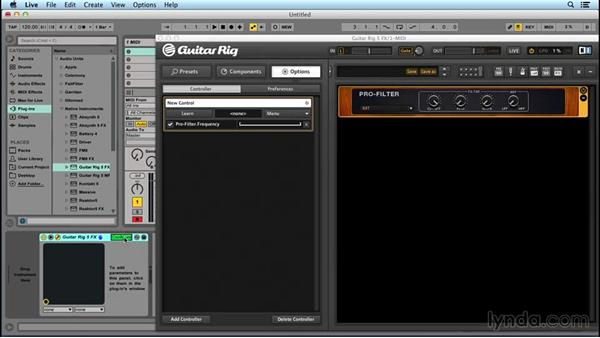 Automating GUITAR RIG through your DAW: Up and Running with GUITAR RIG