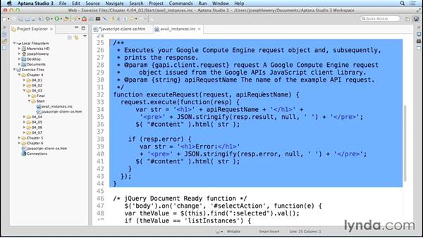 Displaying available instances and disks: Google Cloud Compute Engine Essential Training