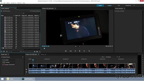 Getting familiar with the raw footage: EPK Editing Workflows 06: The Final Product