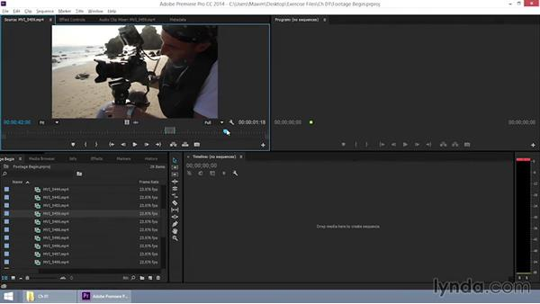 Choosing the footage to use: EPK Editing Workflows 06: The Final Product