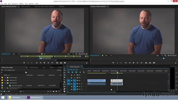 Constructing the story: EPK Editing Workflows 06: The Final Product