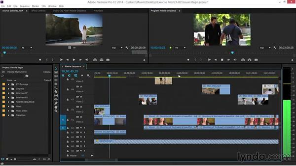 Adding visuals to the radio edit: EPK Editing Workflows 06: The Final Product