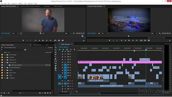 Making difficult choices about content: EPK Editing Workflows 06: The Final Product