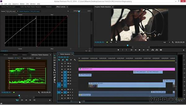 Considering footage prior to color correction: EPK Editing Workflows 06: The Final Product