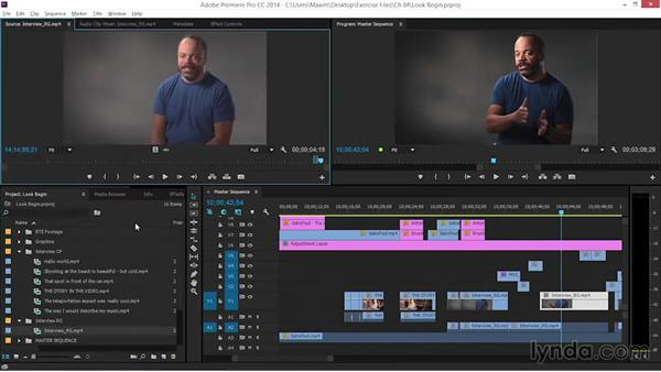 Creating a look: EPK Editing Workflows 06: The Final Product