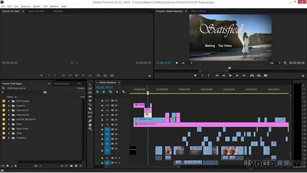 A first draft of the graphics: EPK Editing Workflows 06: The Final Product