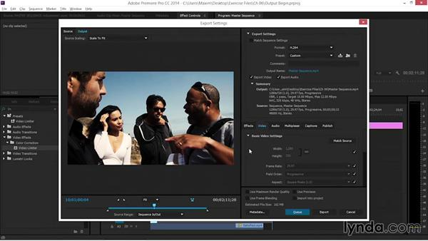 Output: EPK Editing Workflows 06: The Final Product